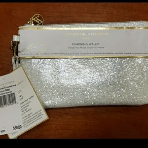 Charging Wallet - Sparkling White New
